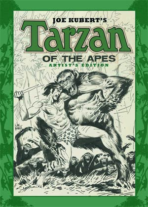 Joe Kuberts Tarzan Of The Apes Artists Edition HC