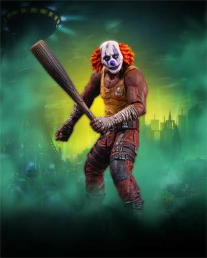 Batman Arkham City Series 3 Clown Thug With Bat Action Figure