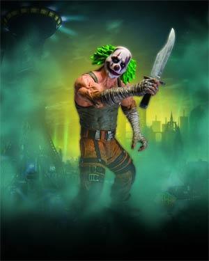 Batman Arkham City Series 3 Clown Thug With Knife Action Figure