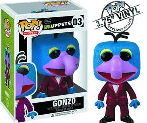 POP Muppets 03 Gonzo Vinyl Figure