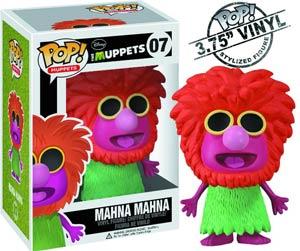 POP Muppets 07 Mahna Mahna Vinyl Figure