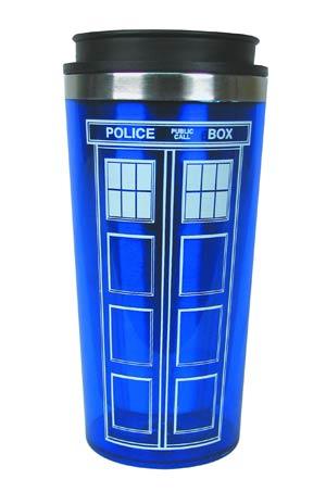 Doctor Who TARDIS 16-Ounce Travel Mug
