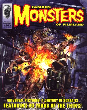 DO NOT USE (DUPLICATE LISTING) Famous Monsters Of Filmland #263 Sep / Oct 2012 Previews Exclusive Edition