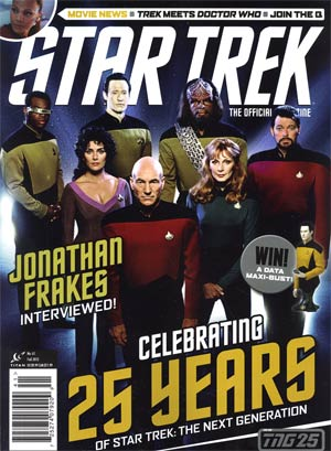 Star Trek Magazine #41 Fall 2012 Newsstand Edition