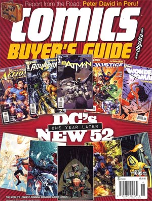 Comics Buyers Guide #1695 Nov 2012