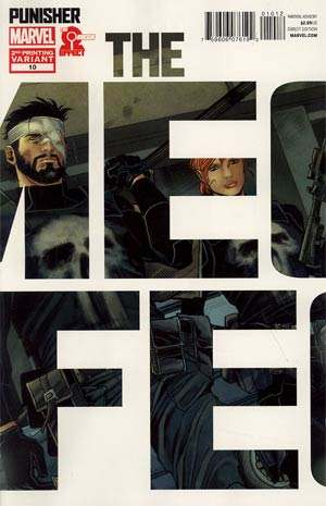 Punisher Vol 8 #10 Cover C 2nd Ptg Variant Cover (The Omega Effect Part 2)
