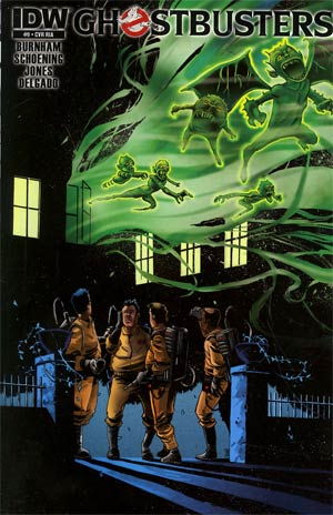 Ghostbusters #9 Incentive Mike Henderson Variant Cover