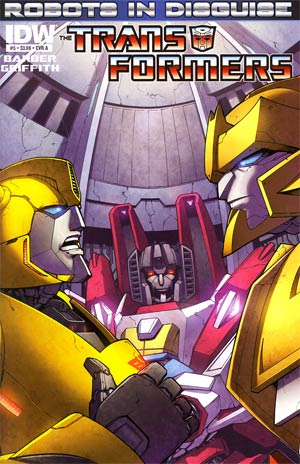 Transformers Robots In Disguise #5 Regular Cover A