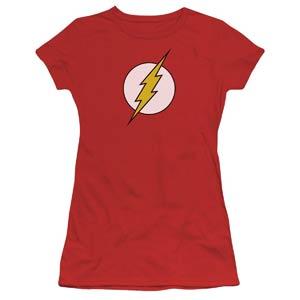 Flash Symbol Womens T-Shirt Large (Trevco)