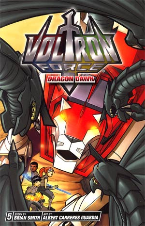 Voltron Force Vol 5 Dragon Dawn GN