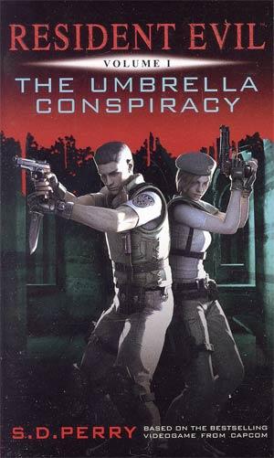 Resident Evil Vol 1 Umbrella Conspiracy MMPB Titan Edition