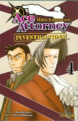 Miles Edgeworth Ace Attorney Investigations Vol 4 GN