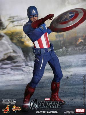 Avengers Movie Captain America 12-Inch Action Figure