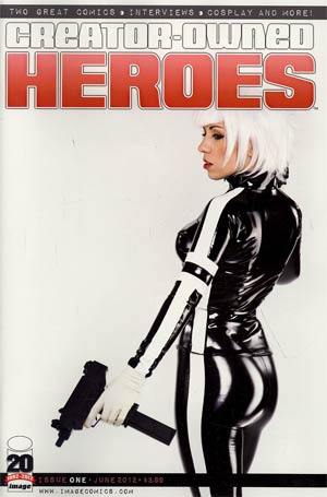 Creator-Owned Heroes #1 Incentive Triggergirl 6 Variant Cover