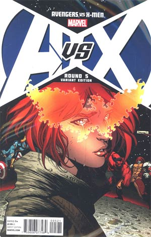 Avengers vs X-Men #5 Cover E Incentive Ryan Stegman Variant Cover