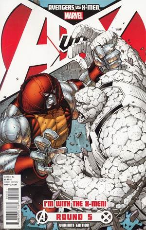 Avengers vs X-Men #5 Cover C Variant Team X-Men Cover