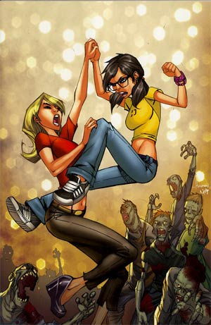 Fanboys vs Zombies #3 Incentive Ale Garza Virgin Variant Cover