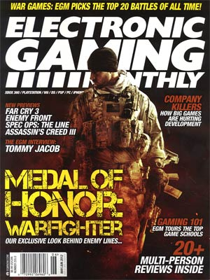Electronic Gaming Monthly #255 May / Jun 2012
