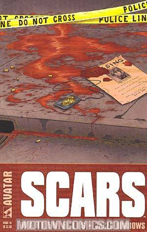 Warren Ellis Scars #1 Regular Cvr