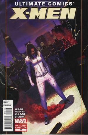 Ultimate Comics X-Men #13 Incentive Jorge Molina Variant Cover