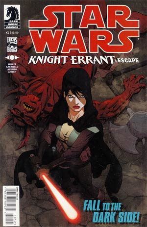 Star Wars Knight Errant Escape #1 Incentive Mike Hawthorne Variant Cover