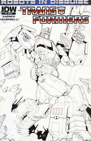 Transformers Robots In Disguise #6 Incentive Casey Coller Sketch Cover
