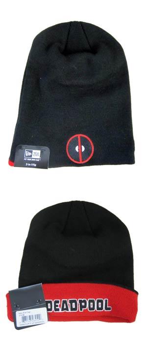 Deadpool Hero Flip-It-Up Knit Cap
