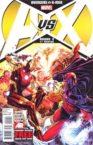 Avengers vs X-Men #2 Cover J 4th Ptg Jim Cheung Variant Cover