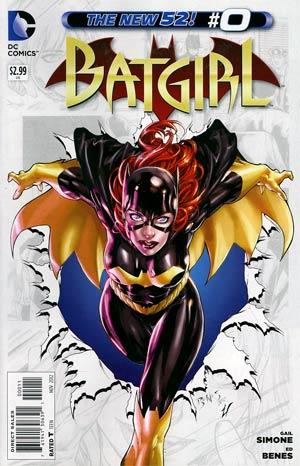 Batgirl Vol 4 #0
