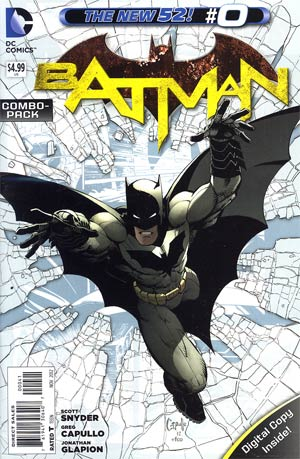 Batman Vol 2 #0 Cover D Combo Pack With Polybag