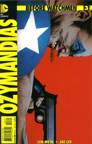 Before Watchmen Ozymandias #3 Regular Jae Lee Cover