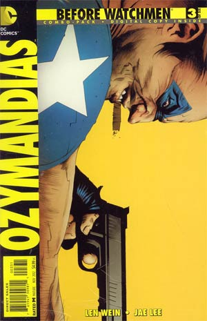 Before Watchmen Ozymandias #3 Cover C Combo Pack With Polybag