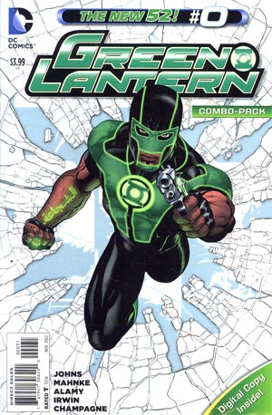 Green Lantern Vol 5 #0 Combo Pack With Polybag