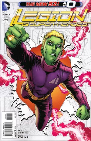 Legion Of Super-Heroes Vol 7 #0