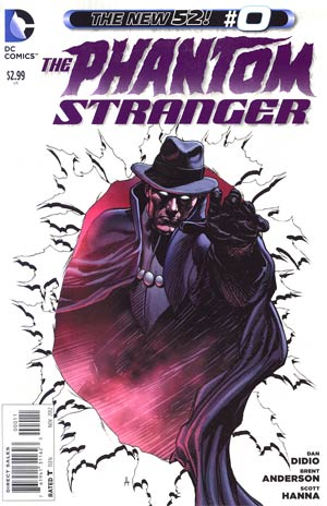 Phantom Stranger Vol 4 #0 Regular Brent Anderson Cover