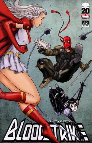 Bloodstrike #32 Cover A Regular Tim Seeley Cover
