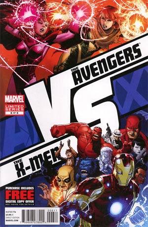 AVX VS #6 Cover A Regular Jim Cheung Cover (Avengers vs X-Men Tie-In)