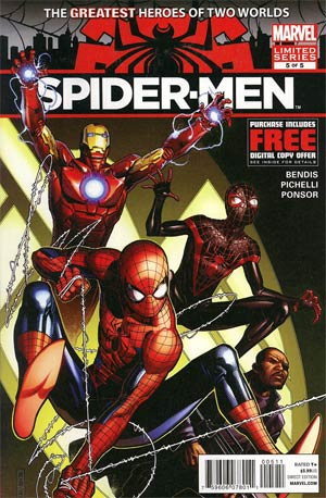 Spider-Men #5 Cover A Regular Jim Cheung Cover