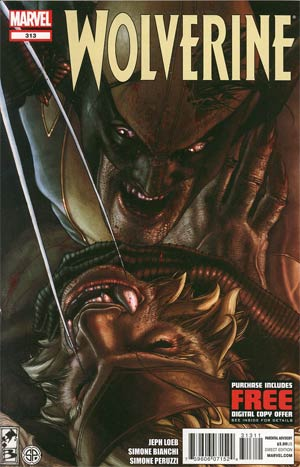 Wolverine Vol 4 #313 Regular Simone Bianchi Cover