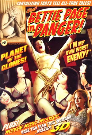 Bettie Page In Danger #5