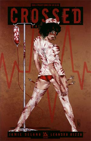 Crossed Badlands #4 Project Comic Con Nurse Cvr