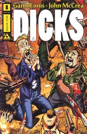 Dicks Color Edition #8 Reg Cvr
