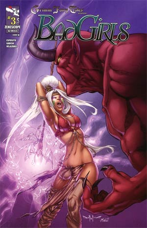 Grimm Fairy Tales Bad Girls #3 Cover A Pasquale Qualano