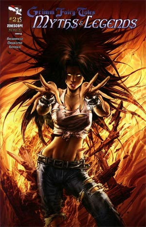 Grimm Fairy Tales Myths & Legends #21 Cover A Keu Cha