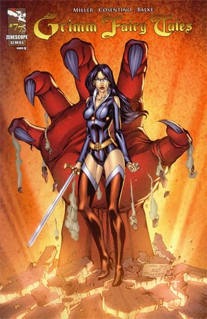 Grimm Fairy Tales #77 Cover B Tommy Patterson