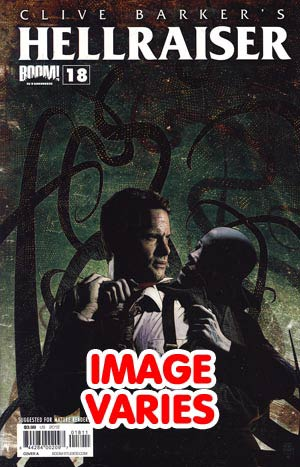DO NOT USE Clive Barkers Hellraiser Vol 2 #18 Regular Cover (Filled Randomly With 1 Of 2 Covers)