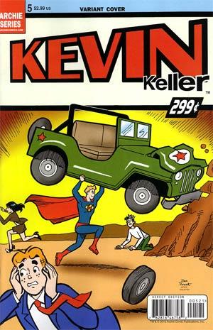 Kevin Keller #5 Variant Dan Parent Cover