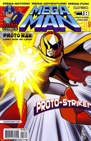 Mega Man Vol 2 #18 Variant Mike Norton Cover