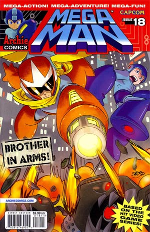 Mega Man Vol 2 #18 Regular Sanford Greene Cover