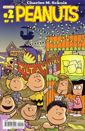 Peanuts Vol 3 #2 Regular Vicki Scott Cover